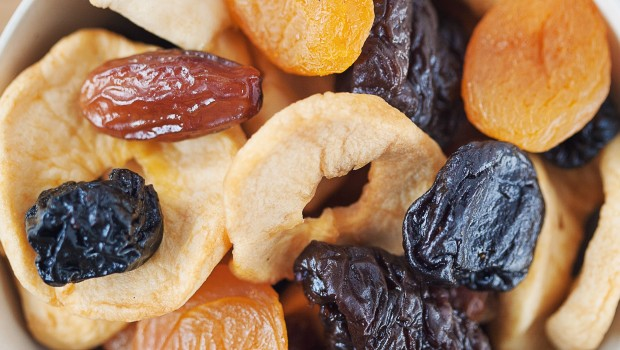 džiovinti vaisiai
