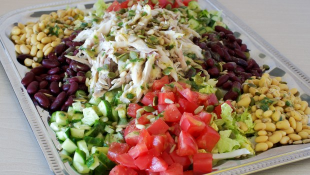 sveikos salotos Arimex